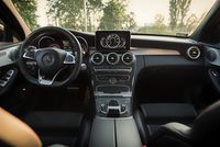 Mercedes C450 AMG - wnętrze