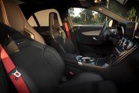 Mercedes C450 AMG - fotele