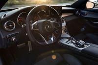 Mercedes C450 AMG - kierownica