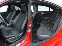 Mercedes CLA 250 Sport 4MATIC - przednie i tylne fotele