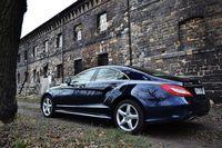 Mercedes CLS 350 BlueTEC 7G-TRONIC PLUS 4MATIC - widok z tyłu i boku