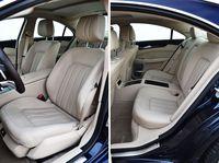 Mercedes CLS 350 BlueTEC 7G-TRONIC PLUS 4MATIC - przednie i tylne fotele