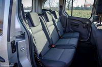 Mercedes Citan 112 AT - fotele