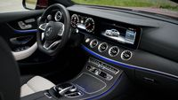Mercedes E 400 Coupe 4Matic - wnętrze