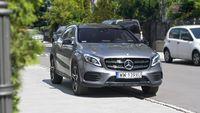 Mercedes GLA 220 4Matic - przód