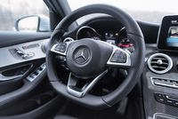 Mercedes GLC Coupe 250d - kierownica