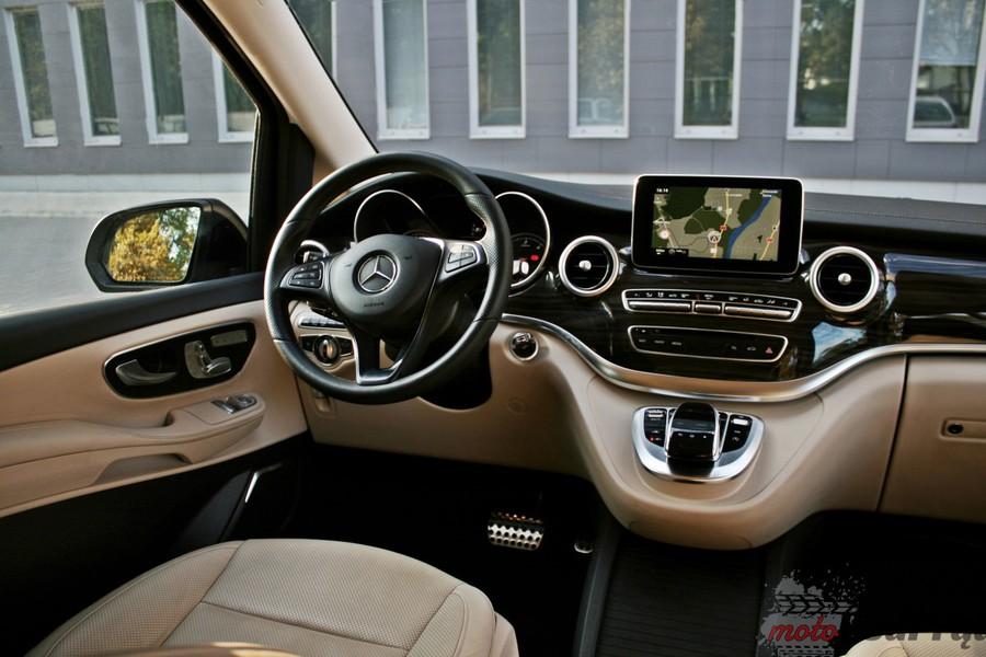 Mercedes Klasy V - wnętrze