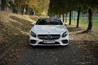 Mercedes S560 Coupe - przód