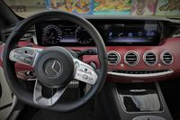 Mercedes S560 Coupe - deska rozdzielcza