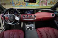 Mercedes S560 Coupe - wnętrze