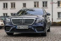 Mercedes S560L 4Matic - przód