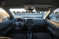 Mitsubishi ASX  - wnętrze