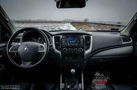 Mitsubishi L200 Premiere Edition - wnętrze