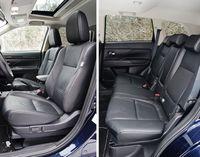 Mitsubishi Outlander 2.0 4WD CVT Instyle Navi - fotele