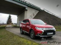 Mitsubishi Outlander 2.2 DID 6AT - z przodu