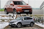 Mitsubishi Outlander 2.2 DiD Intense Plus vs Honda CR-V 2.2 i-DTEC Executive Navi