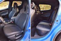 Nissan Juke 2020 - fotele