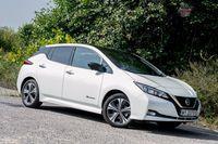Nissan Leaf Tekna - z przodu