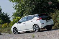 Nissan Leaf Tekna - z tyłu