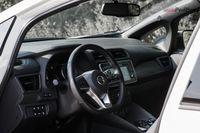 Nissan Leaf Tekna - wnętrze