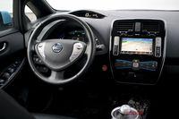 Nissan Leaf - wnętrze