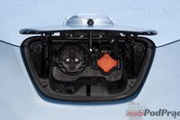 Nissan Leaf - gniazdo ładowania