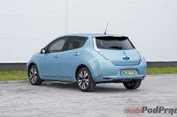 Nissan Leaf - z tyłu