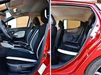 Nissan Micra 2017 - fotele