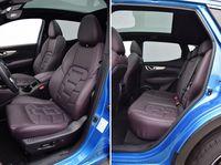 Nissan Qashqai dCi Xtronic Tekna - fotele