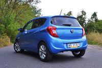 Opel Karl 1.0 Ecotec Cosmo - niebieski, z tyłu