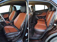 Opel Mokka 1.7 CDTI 4x4 Cosmo - przednie i tylne fotele