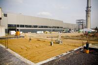 Fabryka Petralana - budowa