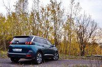 Peugeot 5008 1.6 BlueHDi Allure - z tyłu
