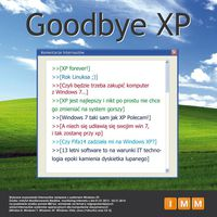 Goodbye Windows XP