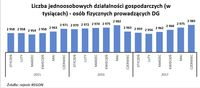 Liczba jednoosobowych działalności gospodarczych