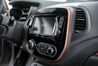Renault Captur 1,5 110 KM - wyświetlacz