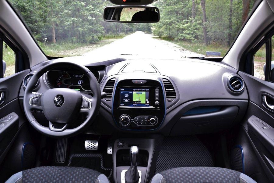 Renault Captur Wnętrze