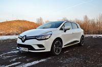 Renault Clio Grandtour Energy dCi 110 Intens - z przodu i boku