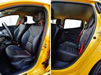 Renault Clio R.S. Trophy - fotele