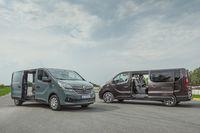 Renault Trafic - z przodu i boku