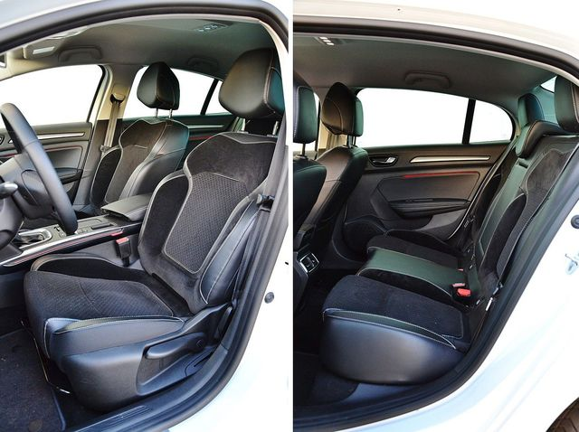 renault megane grandcoupe dci 110 edc intens fotele. Black Bedroom Furniture Sets. Home Design Ideas