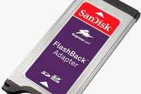 SanDisk FlashBack Adapter do notebooka