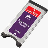 SanDisk FlashBack Adapter