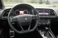 Seat Leon Cupra ST 300 KM - kierownica