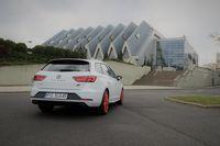 Seat Leon Cupra ST 300 KM - z tyłu