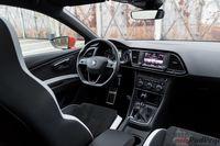 Seat Leon Cupra ST - wnętrze