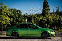 Skoda Octavia RS Challenge - bok
