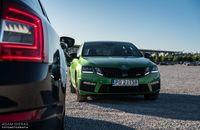 Skoda Octavia RS Challenge - przód