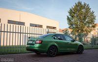 Skoda Octavia RS Challenge - z boku i tyłu