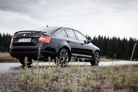 Skoda Octavia RS - z tyłu